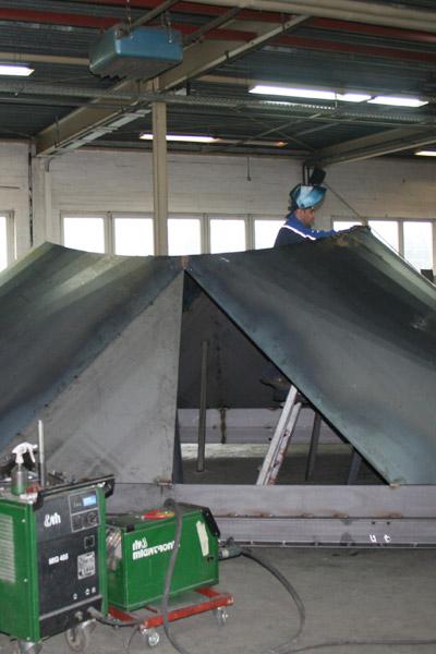 Sonstige Stahlkonstruktionen